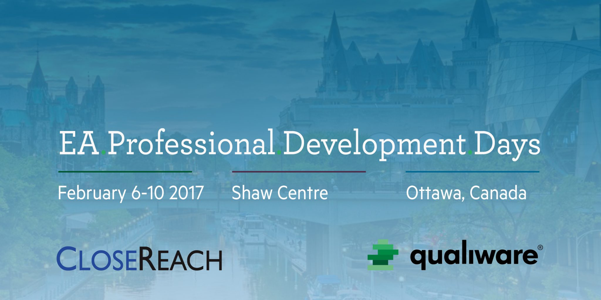 QualiWare + EA Professional Development Days 2017